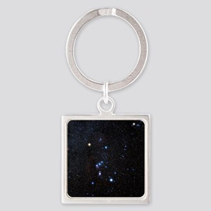Orion constellation Square Keychain