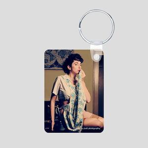 Miss Holschuh Magnet #2 Aluminum Photo Keychain