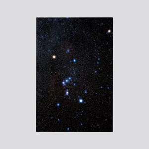 Orion constellation Rectangle Magnet