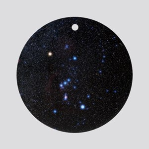 Orion constellation Round Ornament
