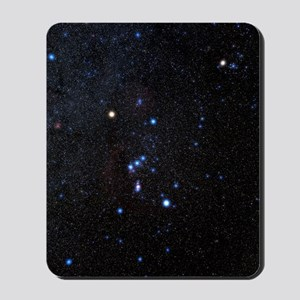 Orion constellation Mousepad