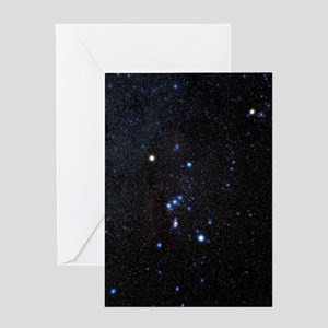 Orion constellation Greeting Card