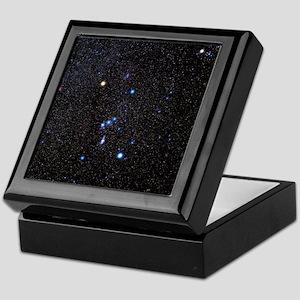 Orion constellation Keepsake Box