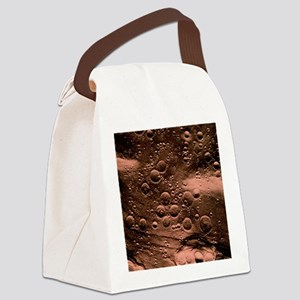 Planned landing site, Fra Mauro a Canvas Lunch Bag