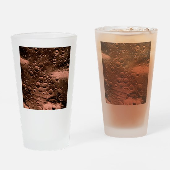 Planned landing site, Fra Mauro are Drinking Glass