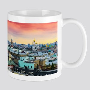 Cityscape landscape Moscow historical view Mugs