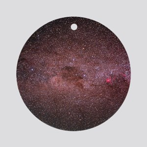 Optical photograph of the Milky Way Round Ornament