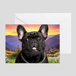 meadow(blanket)2 Greeting Card