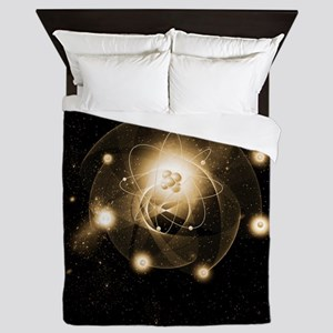 Atom, artwork Queen Duvet