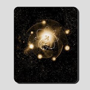 Atom, artwork Mousepad