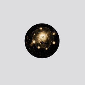 Atom, artwork Mini Button