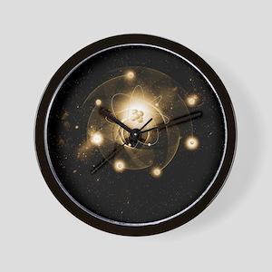 Atom, artwork Wall Clock