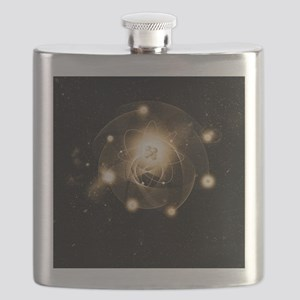 Atom, artwork Flask