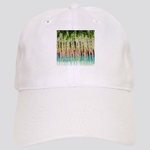 Blooming flowers green leaves spring summer Cap