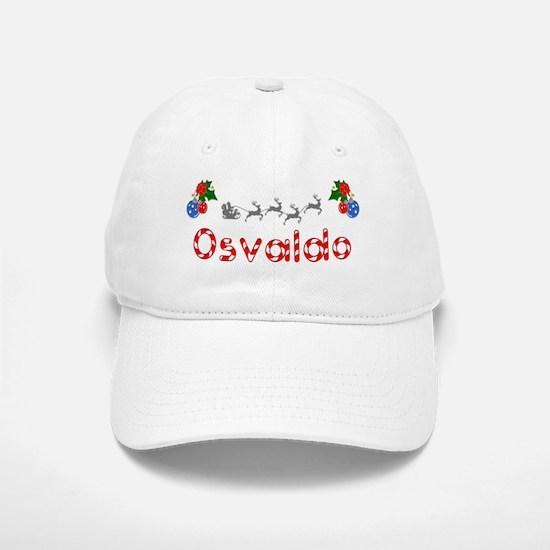 Osvaldo, Christmas Baseball Baseball Cap