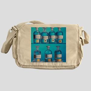 Acid bottles Messenger Bag