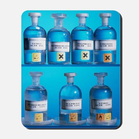 Acid bottles Mousepad