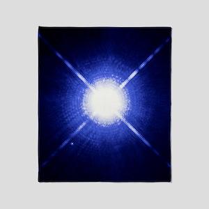 Sirius binary star system Throw Blanket
