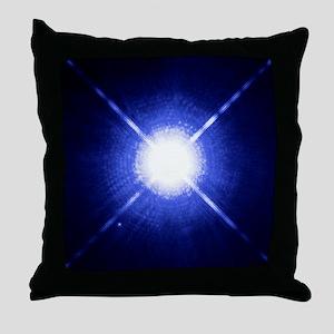 Sirius binary star system Throw Pillow