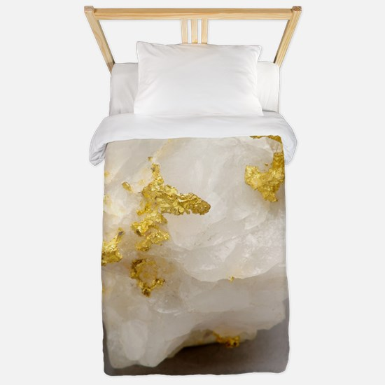 Gold in placer Twin Duvet