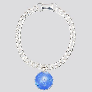 Atom, artwork Charm Bracelet, One Charm