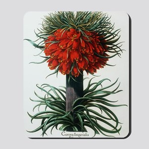 Crown imperial plant Mousepad