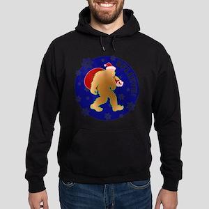 Sasquatch Santa Believe Hoodie