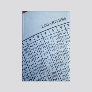 Logarithm table Rectangle Magnet
