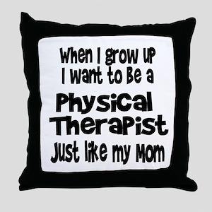 WIGU PT Mom Throw Pillow