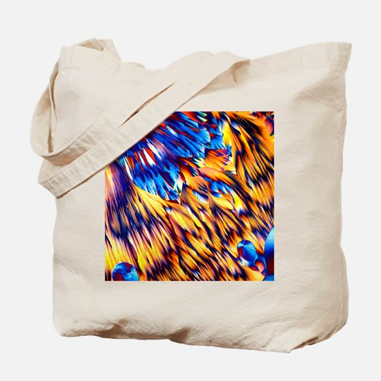 Magnesium sulphate crystals, LM Tote Bag