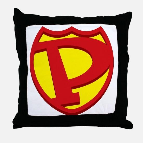 SuperPapa Sheild Only Throw Pillow