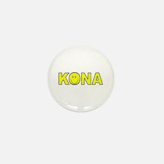 Kona, Hawaii Mini Button