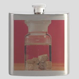 Phosphorus in a jar Flask