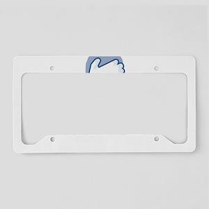 facepalm dark License Plate Holder