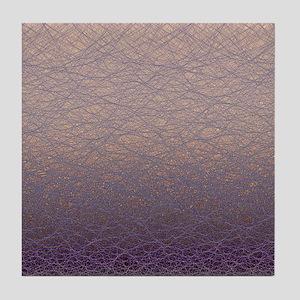 Quantum waves Tile Coaster
