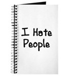 I Hate People Journal