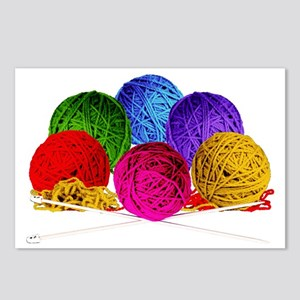 Great Balls of Bright Yar Postcards (Package of 8)