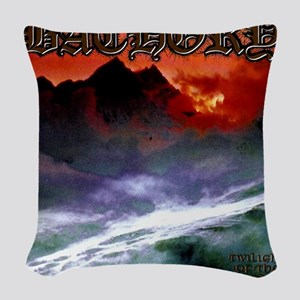 Bathory Woven Throw Pillow