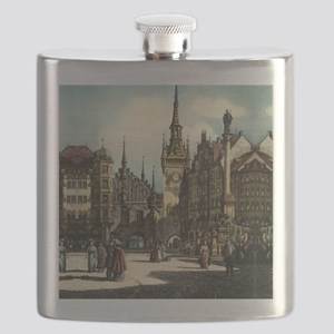 Munich Engraving Flask