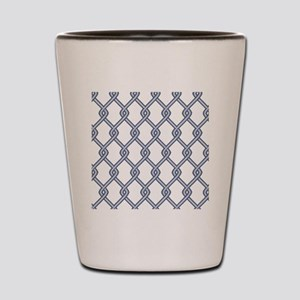 Chain Link Fence Shot Glass