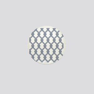 Chain Link Fence Mini Button