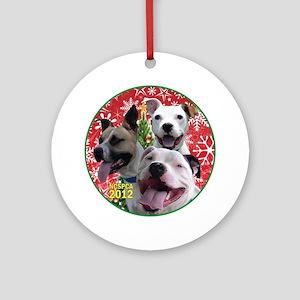 Niagara County SPCA 2012 Round Ornament