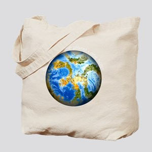 one people . one planet . one home Tote Bag