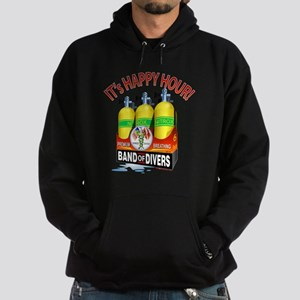 Band of Divers Happy Hour Hoodie (dark)