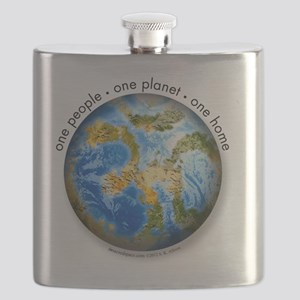 one people . one planet . one home Flask