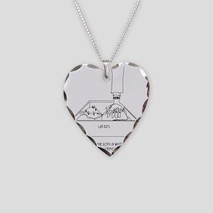 Sacrificial Virgin Necklace Heart Charm