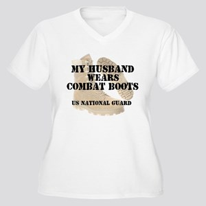 My Husband Wears NG DCB Women's Plus Size V-Neck T