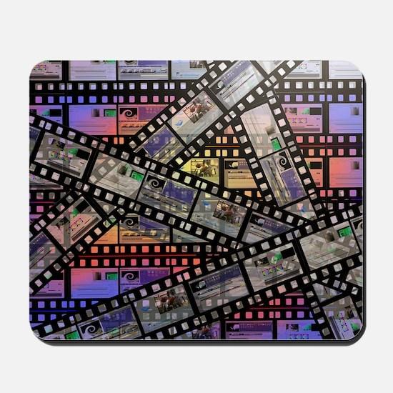 Photographic film, computer artwork Mousepad