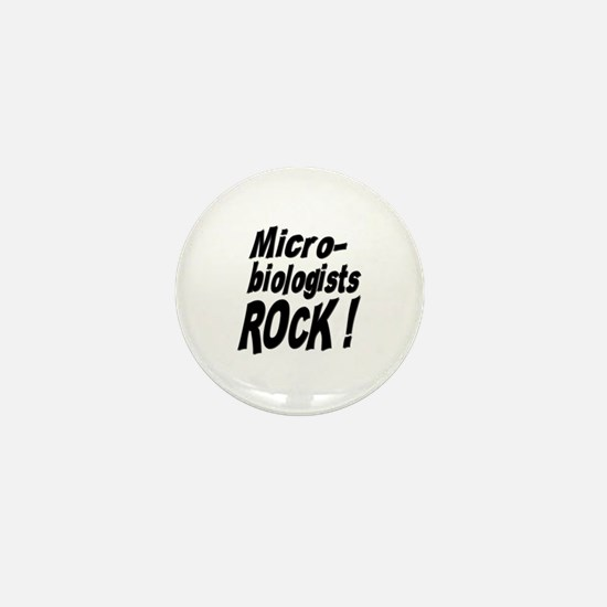 Microbiologists Rock ! Mini Button