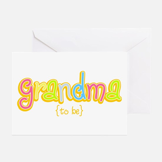 Grandma to Be Greeting Cards (Pk of 10)